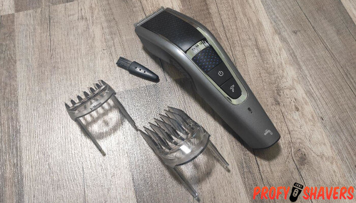 How to shave with electric trimmer